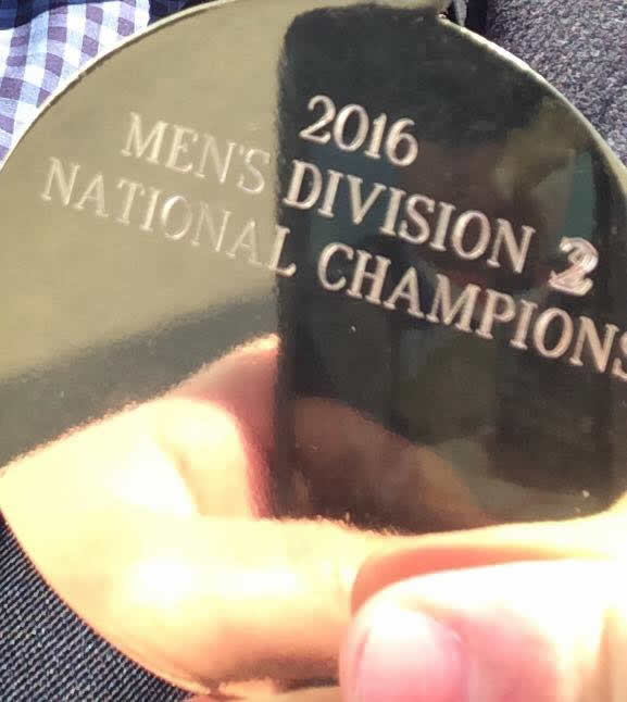 National Championship Team Medal