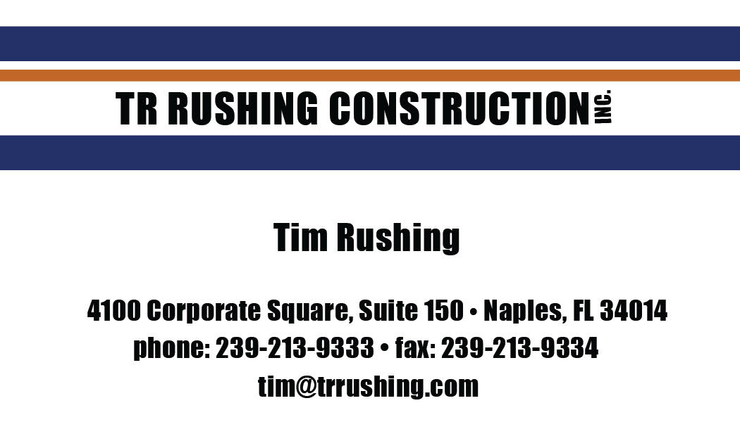TR Rushing Construction